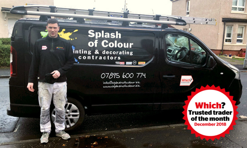 Shaun McKay from Splash of Colour