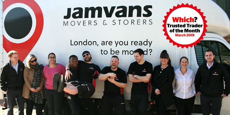 Members of the JamVans team