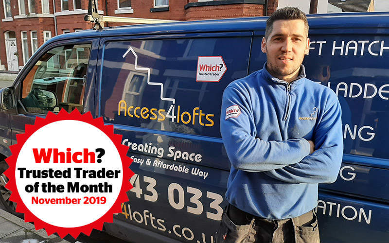 Josh Norgate from Access4Lofts Blackpool