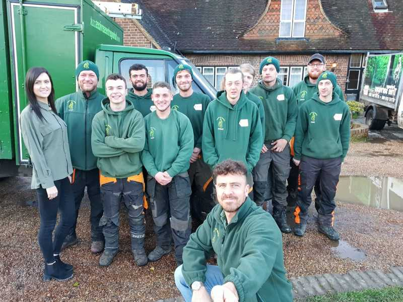 The Furlonger Tree Services team