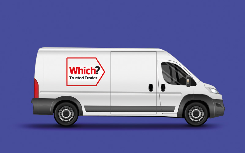 Which? Trusted Trader van
