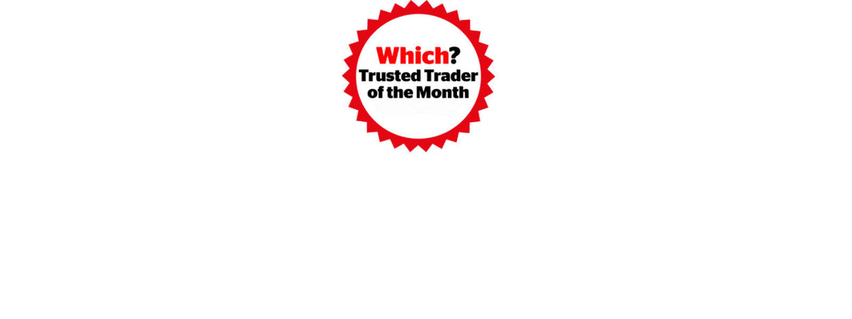 Which? Trusted Trader of the Month logo