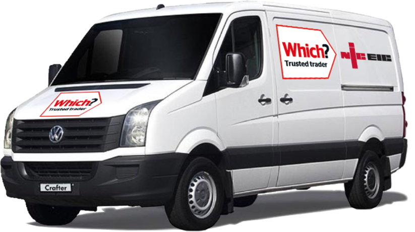 Full van with which niceic
