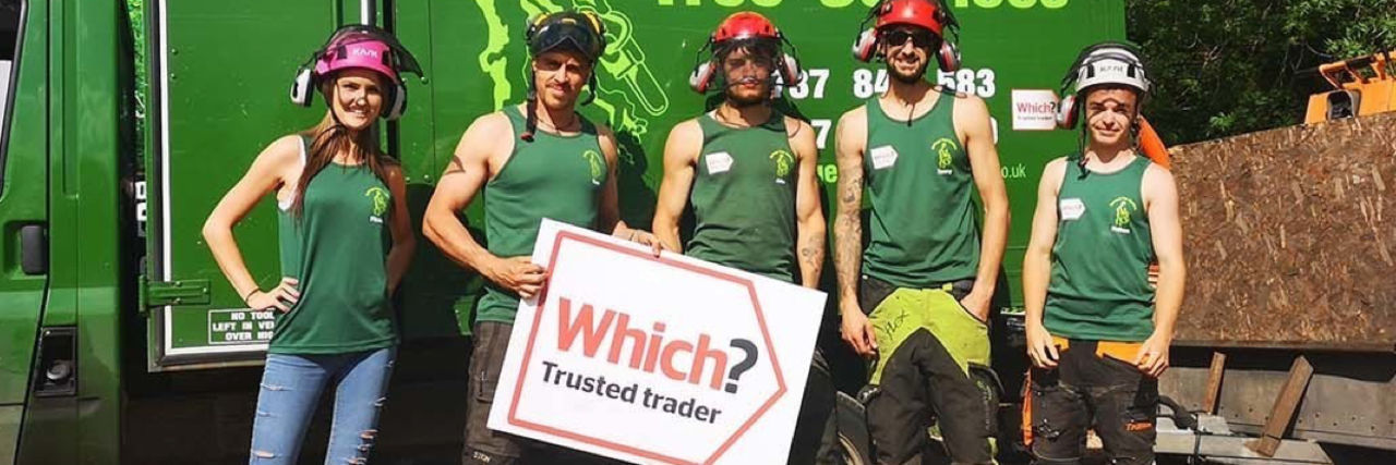 Furlonger Tree Services, winners of Trader of the Year 2019