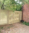 Square thumb jacksons venetian fencing and gate