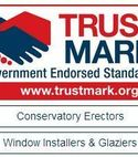 Square thumb trustmark approved conservatory erectors  window installers   glaziers wj richardson glazing west wickhams premier double glazing and conservatory installers