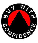 Square thumb buy with confidence logo