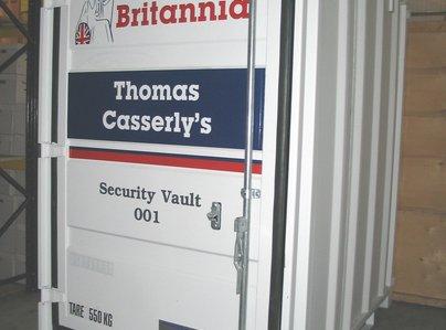 Primary thumb secure storage vault west midlands