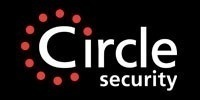Gallery large circle security black s