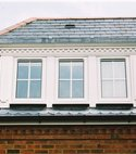 Square thumb dorma window