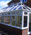 Square thumb clean maintained conservatory