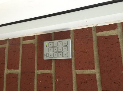 Primary thumb bell keypad