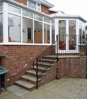 Square thumb mini a hazlemere p shapeded upvc conservatory installation in loudwater  high wycombe  bucks