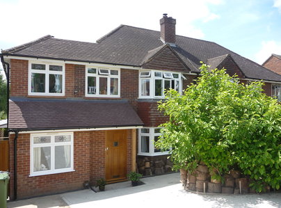 Primary thumb energy rated aluminium window system installed by hazlemere in marlow bucks