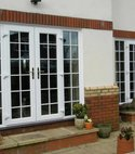 Square thumb french upvc