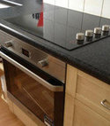 Square thumb new oven hob