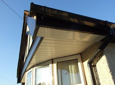 Primary thumb ewell black upvc mock tudor barge board round black gutter white shiplap soffit 1 1030x772