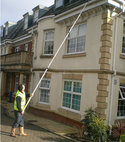 Square thumb gutter cleaning at oak court
