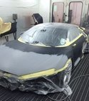 Square thumb car spraybooth 1