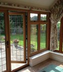 Square thumb double glazed doors medway