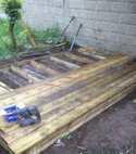 Square thumb deck