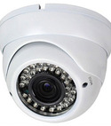 Square thumb dome ir cctv camera