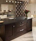 Square thumb clonmel kitchen range black brown ferrara and mussel