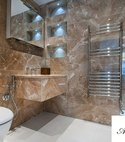 Square thumb shower room finished 9