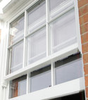 Square thumb retro fitted double glazed sash windows