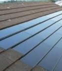 Square thumb solar tiles
