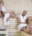 Square thumb 011751818 happy young couple sauna