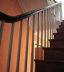 Square thumb norfolk hse stair rail