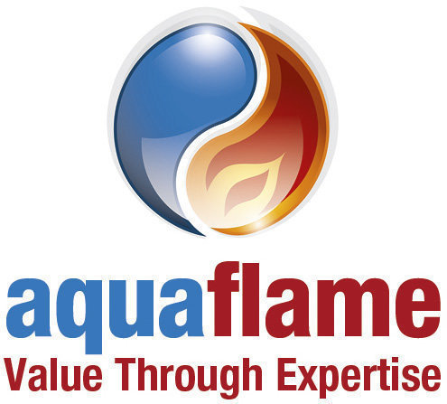 Gallery large aquaflame logo