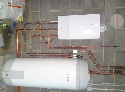 Primary thumb west dryaton 30 cdi system and 250l oso