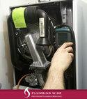 Square thumb boiler servicing