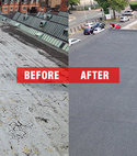 Square thumb flat roofing services