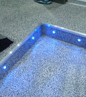 Square thumb step accent lighting 001