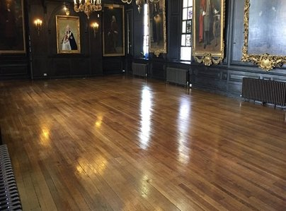 Primary thumb banquet hall wooden floors stripped   high quality gloss non slip polished  10