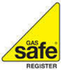 Square thumb gas safe logo