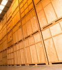 Square thumb storage