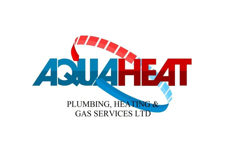 Gallery large aqua heat logo high quality with text