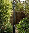 Square thumb lamp post