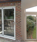 Square thumb bi folding doors 1