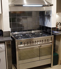 Square thumb cooker range