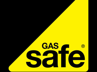 Primary thumb gas safe logo black