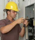 Square thumb electrician electrical contractor