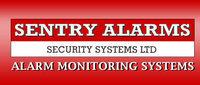 Profile thumb alarms system logo