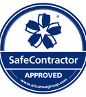 Square thumb seal colour safecontractor sticker