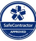 Square thumb seal colour safecontractor sticker