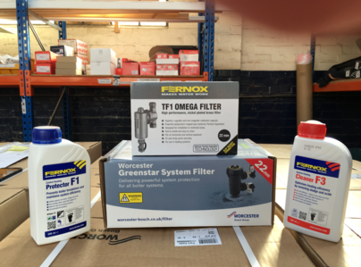 Primary thumb filter and filter cleaners